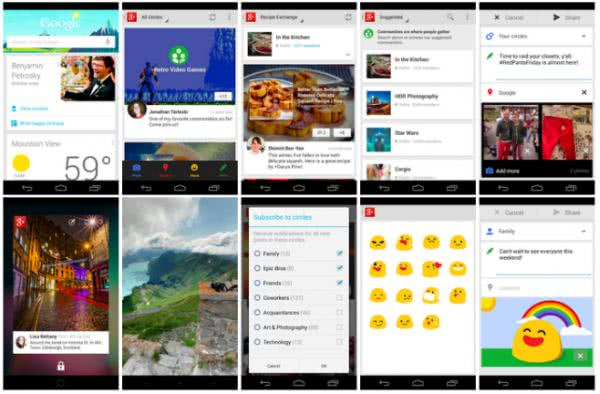Google+ – Google 推出的社群交友 App