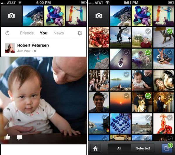 Facebook 相機 – 可一次將多張圖片上傳臉書的 App