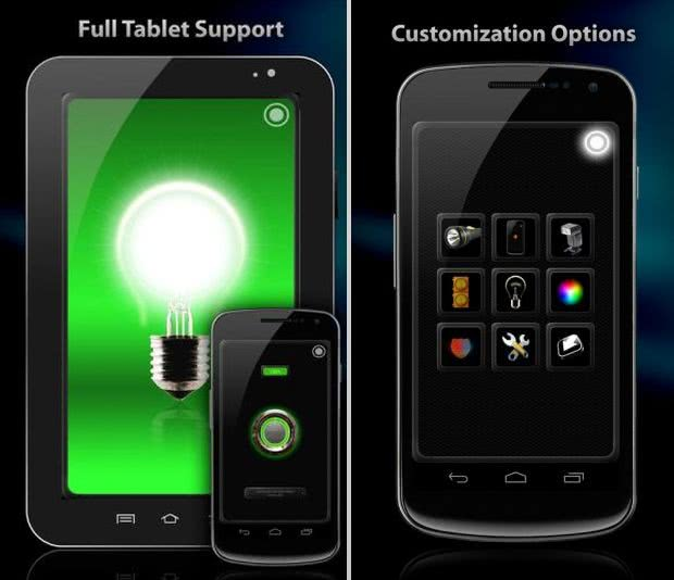 Tiny Flashlight App