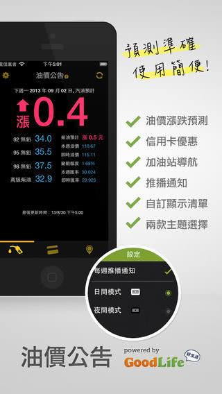 油價公告 App