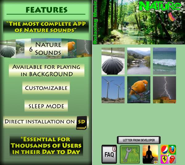 自然輕鬆的音樂 App